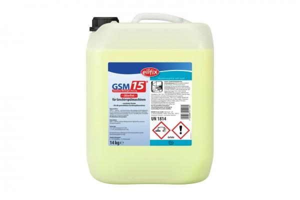 Geschirrspülmittel GSM15 OC - chlorfrei