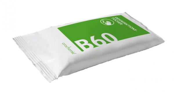 oro B60 Desinfektionstücher Nachfüllpack