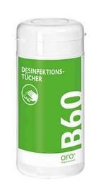 oro B60 Desinfektionstücher Spenderdose