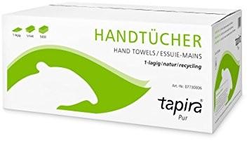 Handtuchpapier 1-lagig tapira pur