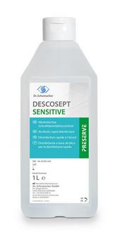 DESCOSEPT SENSITIVE 1 Liter Flasche Alkoholisches Schnelldesinfektionsmittel